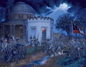 Alabama Corps of Cadets Call to Battle by John Paul Strain