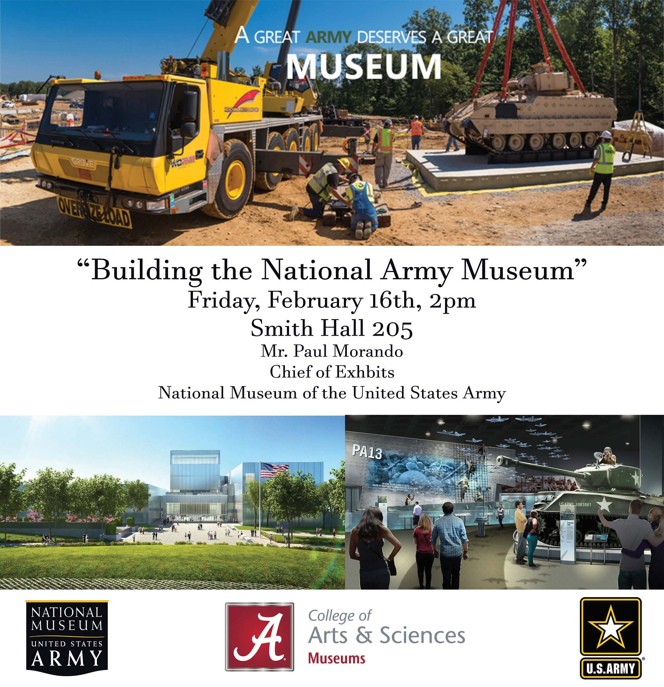 "Building the National Army Museum"" Presentation by Paul"